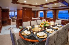 Yacht Camarina Royale -  Formal Dining